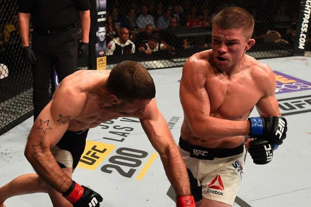 Rick Horror Story UFC figher trained by Cory Gilday
